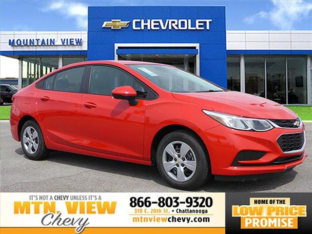 New 2017 Chevrolet Cruze LS Auto