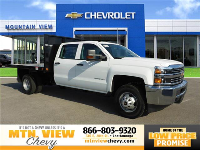 New 2016 Chevrolet Silverado 3500HD CC Work Truck 4WD