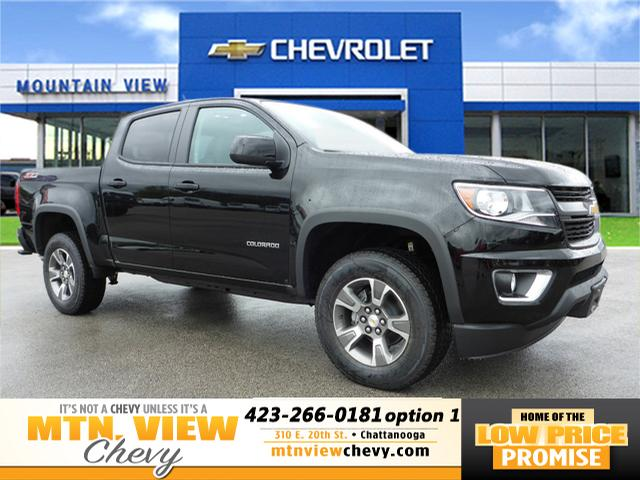 new 2018 chevrolet colorado z71 4x4 z71 4dr crew cab 5 ft sb in chattanooga t18126 mtn view. Black Bedroom Furniture Sets. Home Design Ideas