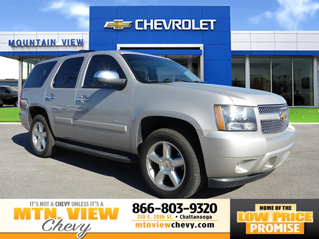 pre owned 2007 chevrolet tahoe ltz navigation ltz 4dr suv. Black Bedroom Furniture Sets. Home Design Ideas