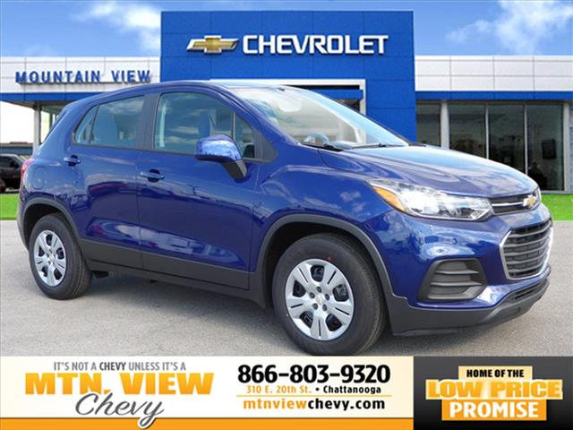 new 2017 chevrolet trax ls ls 4dr crossover w 1ls in chattanooga t17119 mtn view chevrolet. Black Bedroom Furniture Sets. Home Design Ideas